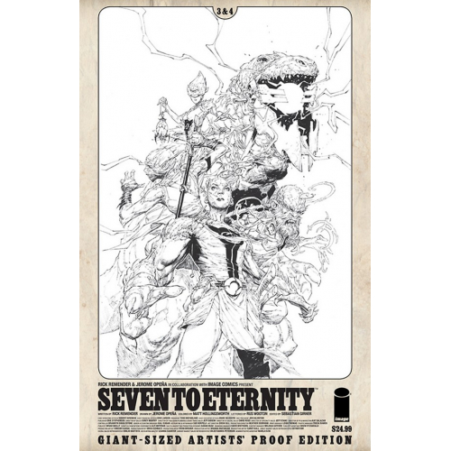 IMAGE GIANT SIZED ARTIST PROOF SEVEN TO ETERNITY 2 (VO)