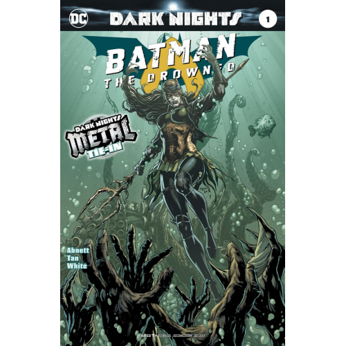 Batman : The Drowned 1-2nd Print (VO) - METAL