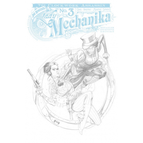 Lady Mechanika The Clockwork Assassin 3 of 3 10 Copy Incentive (VO)