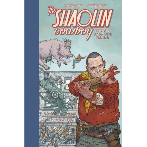 The Shaolin Cowboy: Who'll Stop the Reign? (VO)
