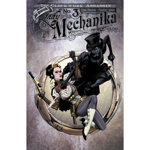 Lady Mechanika The Clockwork Assassin 3 of 3 Cover B (VO)