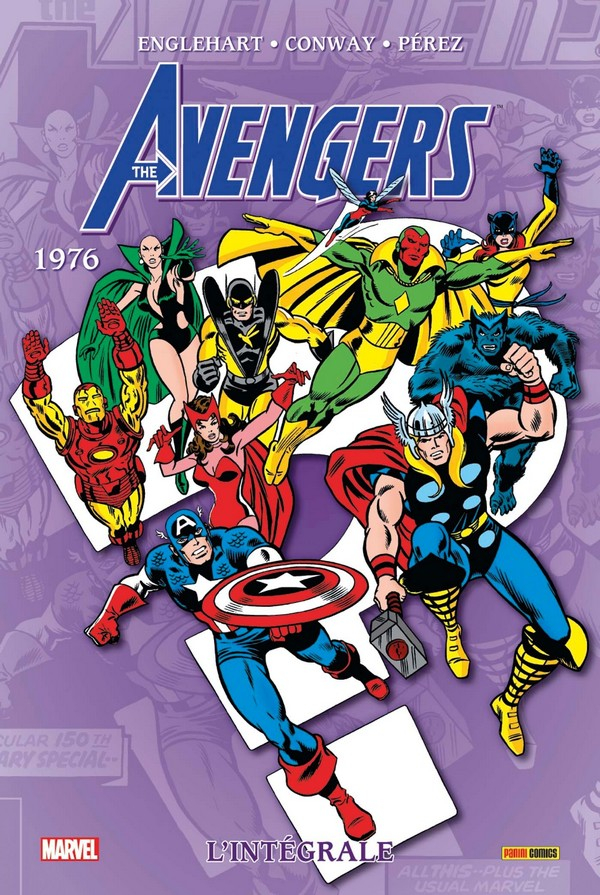 Avengers Intégrale Tome 13 1976 (VF)