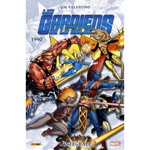 Les gardiens de la galaxie Intégrale Tome 3 1990 (VF)