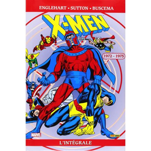 X-MEN INTEGRALE Tome 23 1972-1975 (VF)