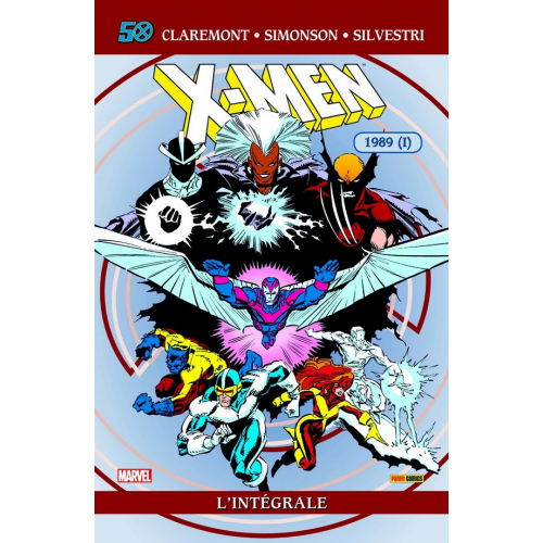 X-MEN INTEGRALE Tome 24 1989 (VF)