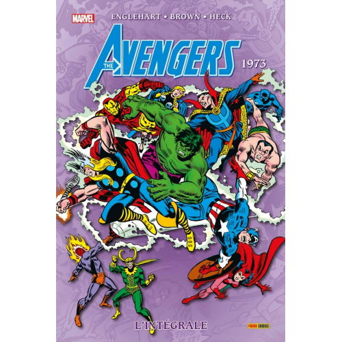 Avengers Intégrale Tome 10 1973 (VF)