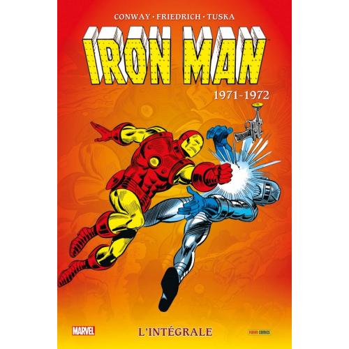 Iron Man Intégrale Tome 7 1971 1972 (VF)