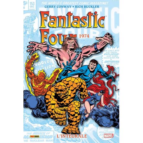 Fantastic Four Intégrale Tome 13 1974 (VF)