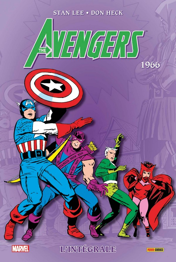 Avengers Intégrale Tome 3 1966 (VF)