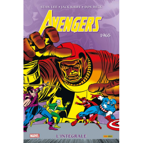Avengers Intégrale Tome 2 1965 (VF)