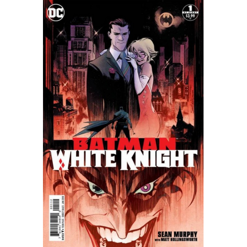 Batman : White Knight 1 - Sean Murphy (VO) - 2nd Print