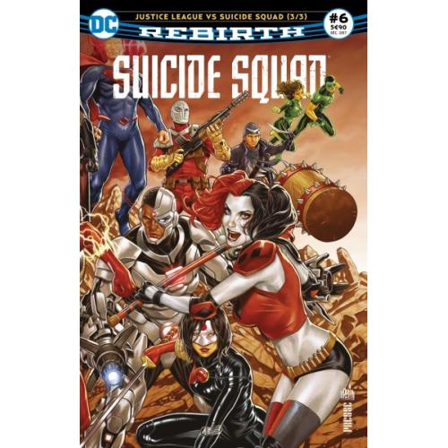 Suicide Squad Rebirth n°6 (VF)
