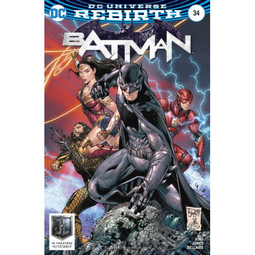 Batman 34 Variant Cover (VO)