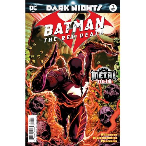 Batman : The Red Death 1 (VO) - 3rd PRINT