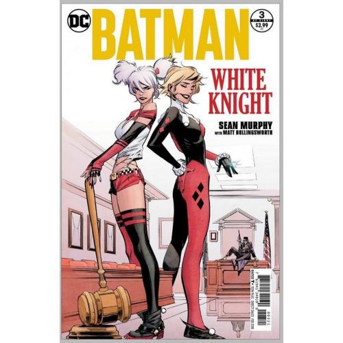 Batman : White Knight 3 - Sean Murphy (VO) Variant Cover