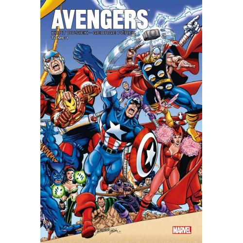 Avengers par Busiek et Perez Tome 1 (VF)