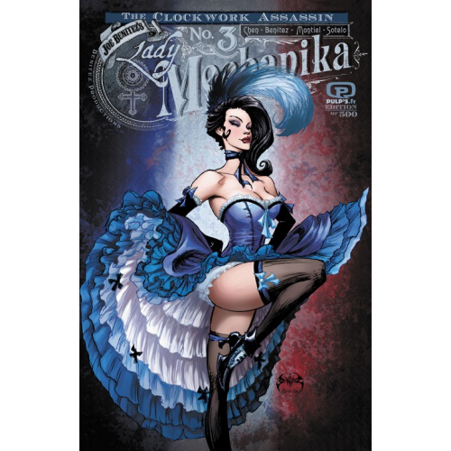 Lady Mechanika The Clockwork Assassin 3 of 3 PULP'S VARIANT (VO)