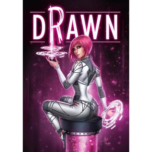 DRAWN- Dawn McTeigue Artbook HC Signed