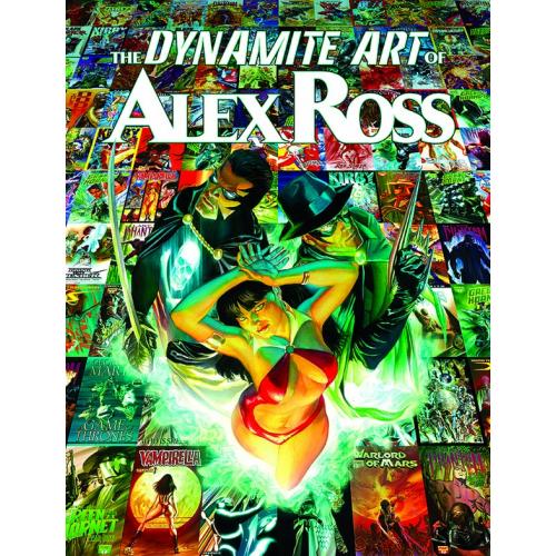DYNAMITE ART OF ALEX ROSS HC (VO)
