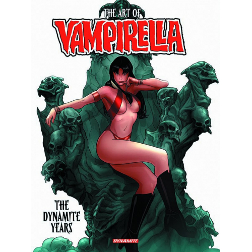 ART OF VAMPIRELLA DYNAMITE YEARS HC (VO)