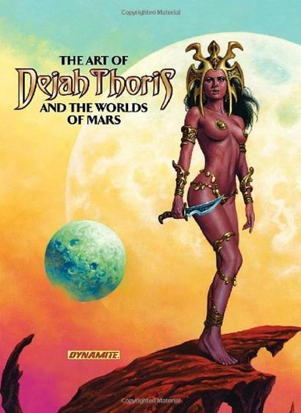 Art of Dejah Thoris and the Worlds of Mars HC (VO)