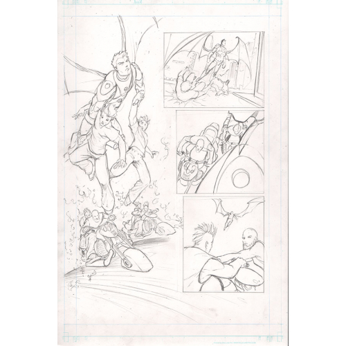 Planche Originale Soulfire (Vol 4) 3 page 7 - Mike Debalfo