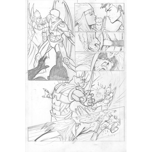 Planche Originale Soulfire (Vol 4) 4 page 8 - Mike Debalfo