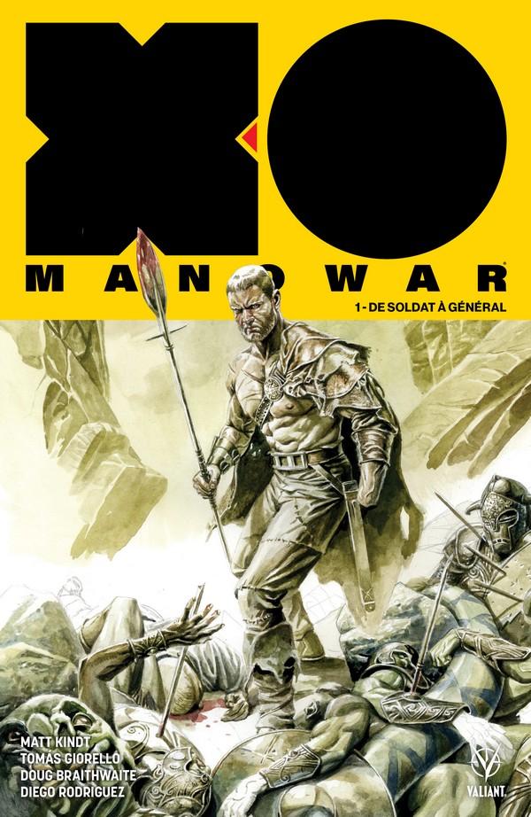 X-O Manowar Édition Collector Original Comics 200 ex (VF)