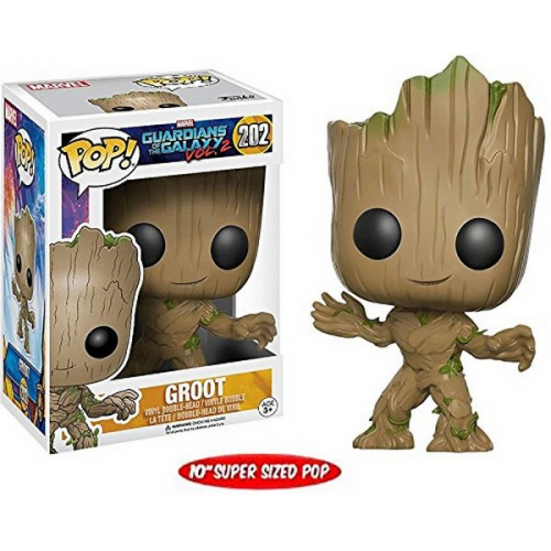 Funko Figurine Marvel - Gardiens De La Galaxie 2 - Young Groot 25 cm
