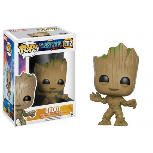 Funko Figurine Marvel - Gardiens De La Galaxie 2 - Young Groot