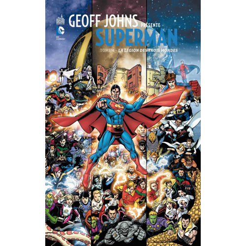 Geoff Johns présente Superman Tome 4 (VF)