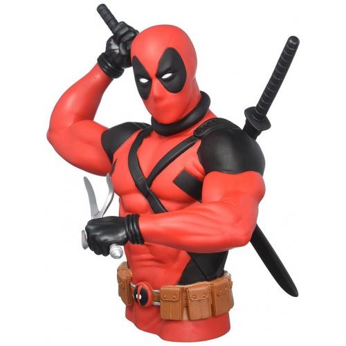 Marvel Tirelire Deadpool New Model 20 Cm