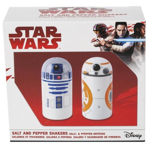 Star Wars Saliere Poivriere BB-8 R2D2