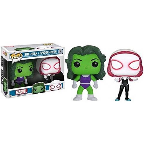 Funko Pop She-Hulk & Spider-Gwen