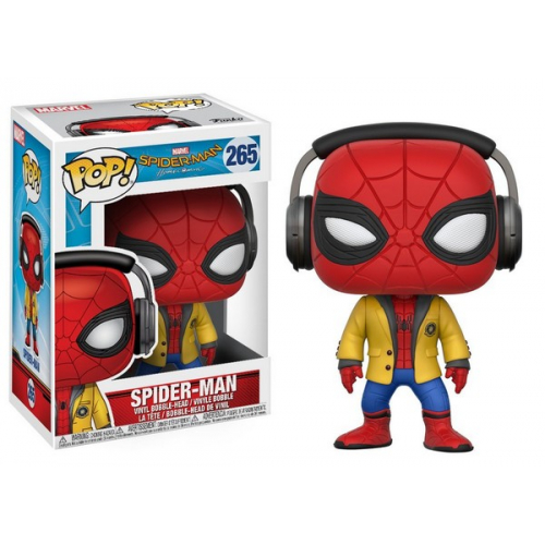 Funko Pop Spider-Man Homecoming Spider-Man With Headphones