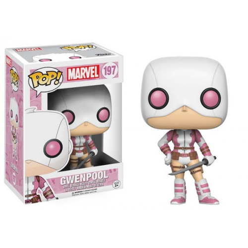 Funko Pop Gwenpool Masked With Sword