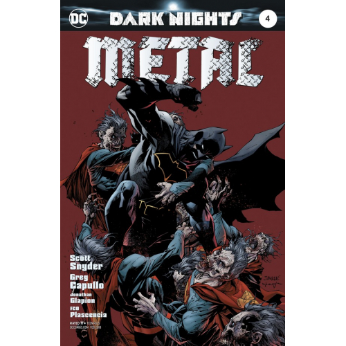 DARK NIGHTS : METAL 4 Jim Lee Variant (VO)