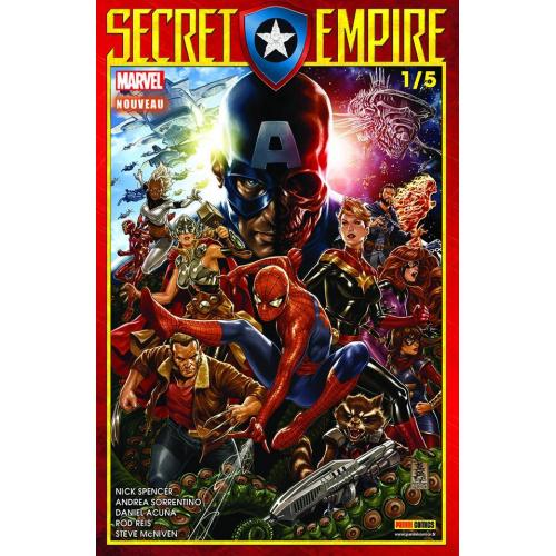 Secret Empire n°1 (VF)