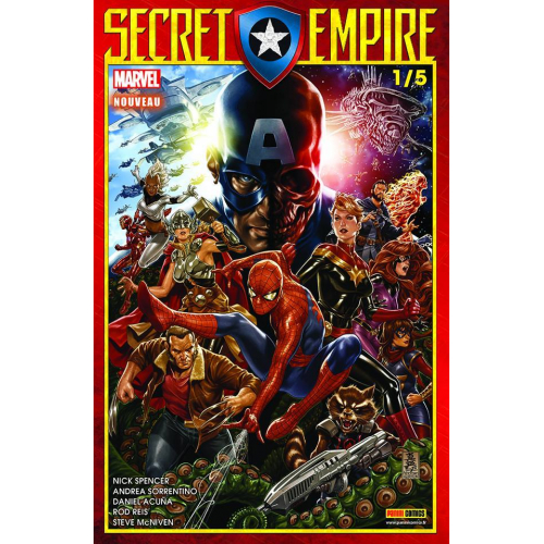 Secret Empire n°1 (VF)