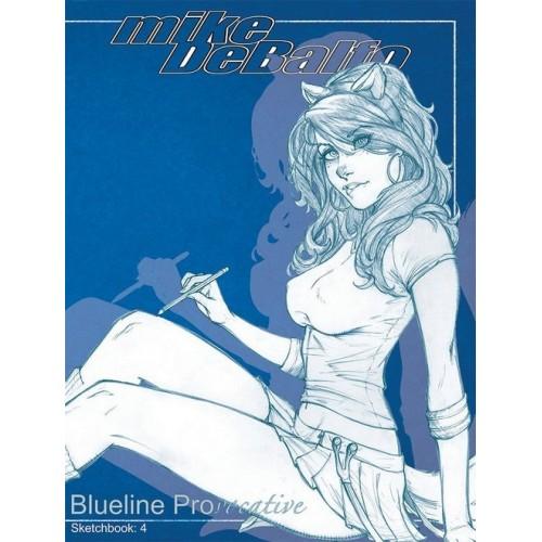 Mike Debalfo 2014 Sketchbook Blueline Provocative