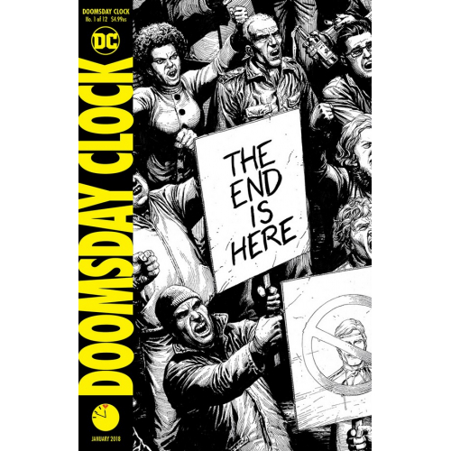 DOOMSDAY CLOCK 1-2nd Print (VO)